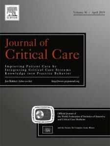 Journal of Critical Care-vol50-april2019